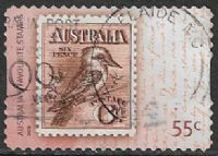 Australia SG3217 2009 Bicentenary (2nd issue) 55c good/fine used